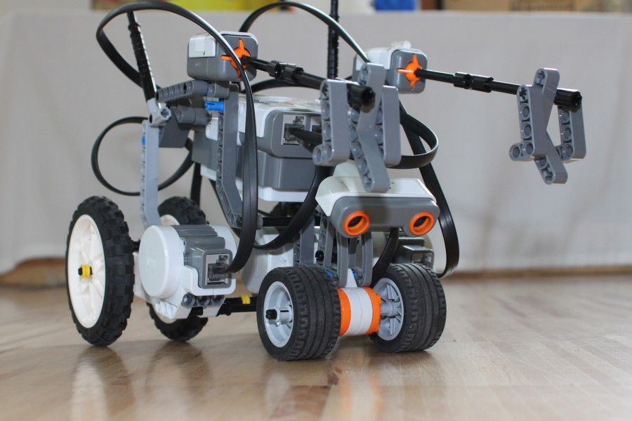 Robotik-Camp: Was Lego-Roboter alles können! © Kinderbüro