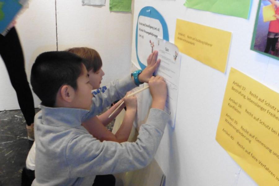 Impressionen von der Einstellungen © Kinderbüro – die Lobby für Menschen bis 14