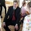 Bürgermeister Kurt Wallner im Gespräch © Kinderbüro – Die Lobby für Menschen bis 14