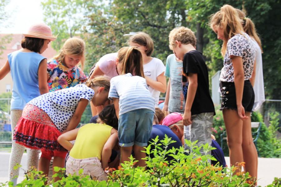 Auf Schnitzeljagd © Kinderbüro – Die Lobby für Menschen bis 14