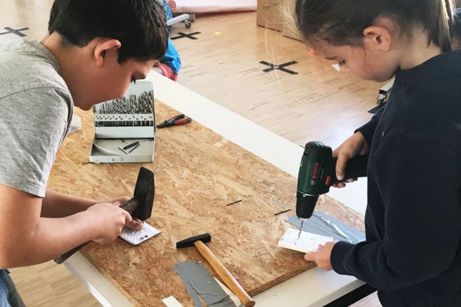 Aktiv beim Robotikcamp © Kinderbüro – Die Lobby für Menschen bis 14