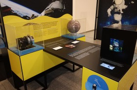 Die Ausstellung an der ÖAW © IWF/ÖAW