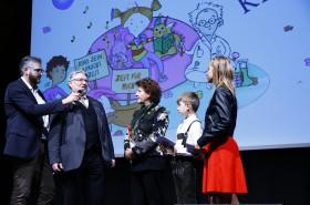 Im Interview mit Gehard Fruhmann, Vorstandspräsident des Kinderbüros und Landesrätin Ursula Lackner © Kinderbüro – Clemens Nestroy