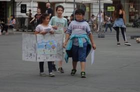 © KinderParlament Graz: Aktion Rauchfreie Spielplätze
