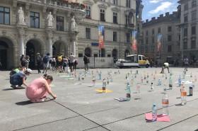 Aktion gegen Plastik © Kinderbüro – Die Lobby für Menschen bis 14
